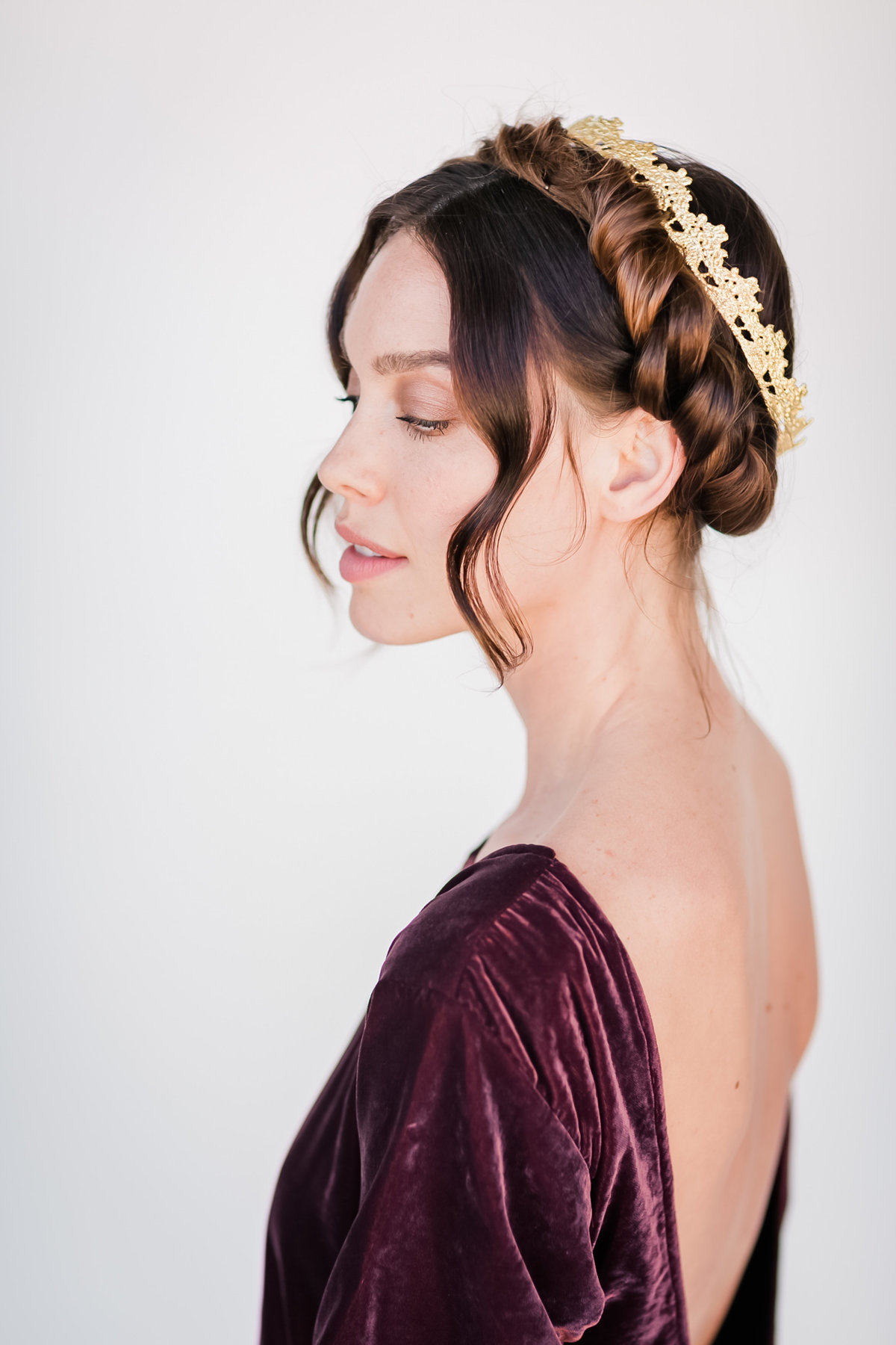 Bridal Crown Editorial Shoot Trace Henningsen Accessories_Valorie Darling Photography-8107