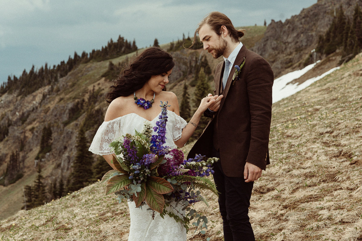 National Park Wedding Photographer By Bridget