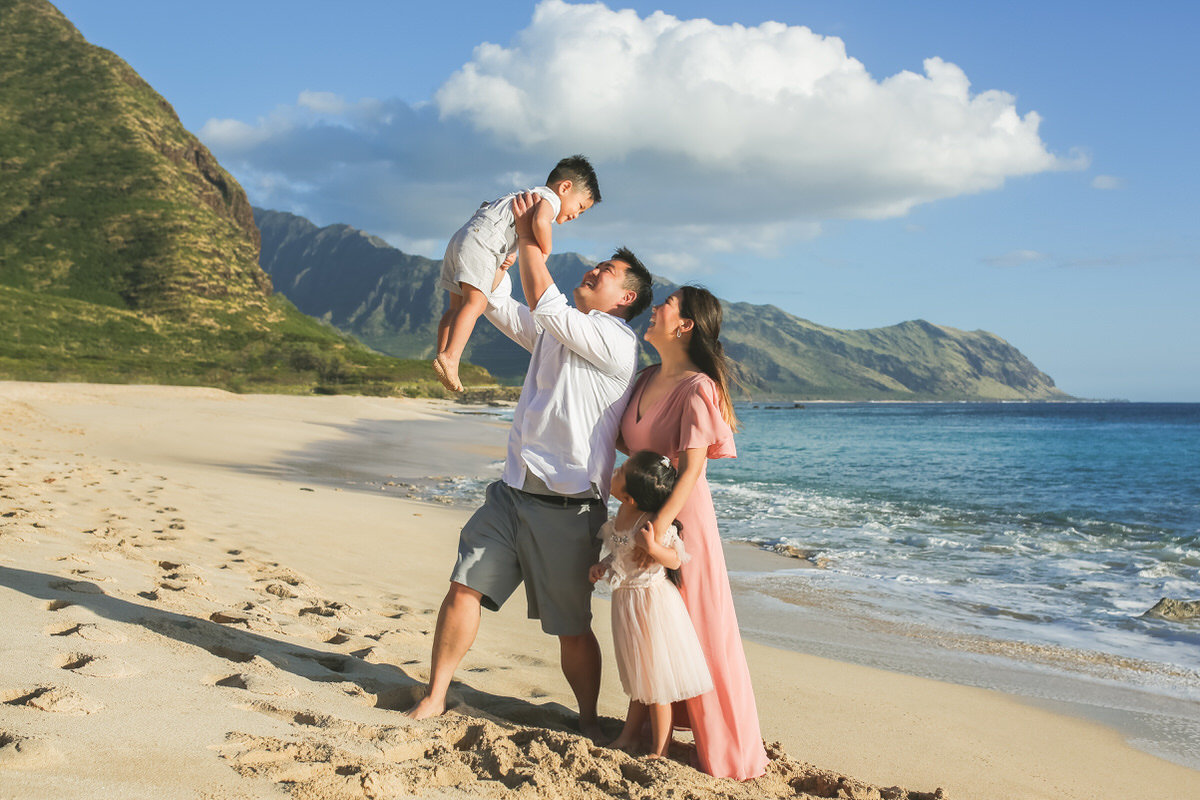 family portraits oahu