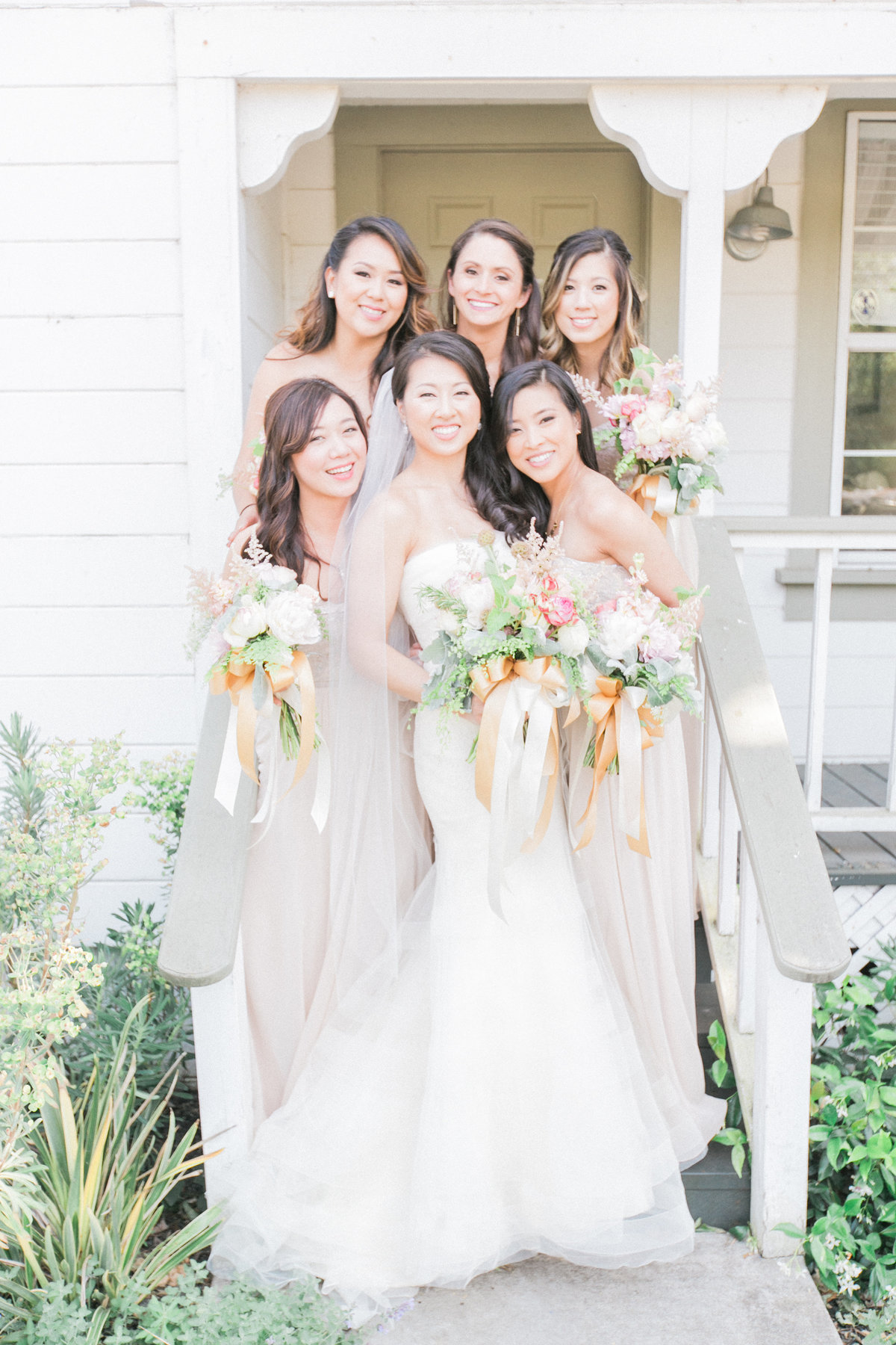 Bridesmaids Cornerstone Sonoma Cottage
