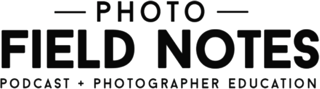 photo field notes podcast logo