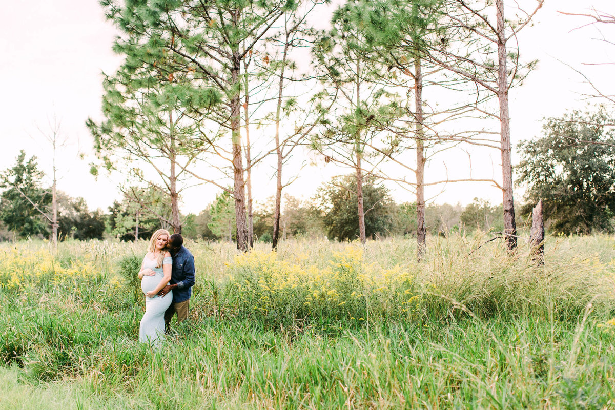 Wildflower Maternity Session in Homosassa