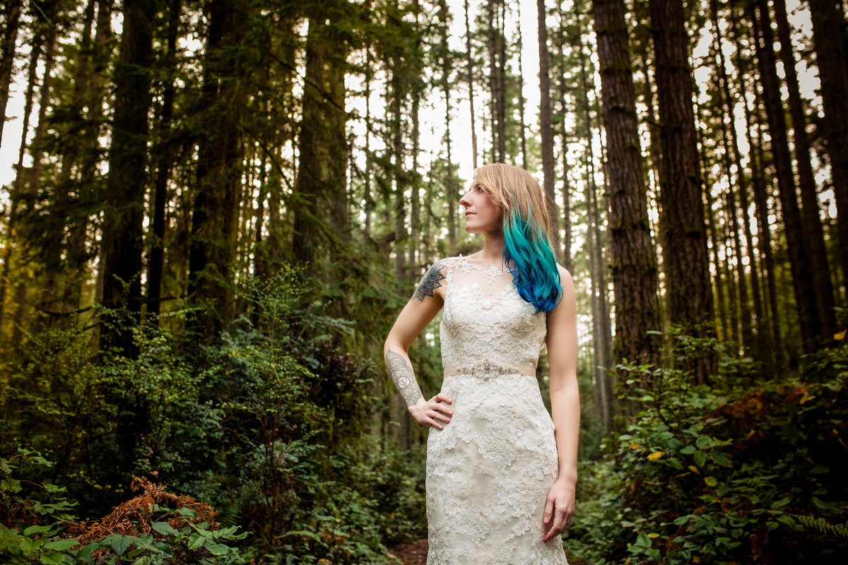 Bainbridge Island bride