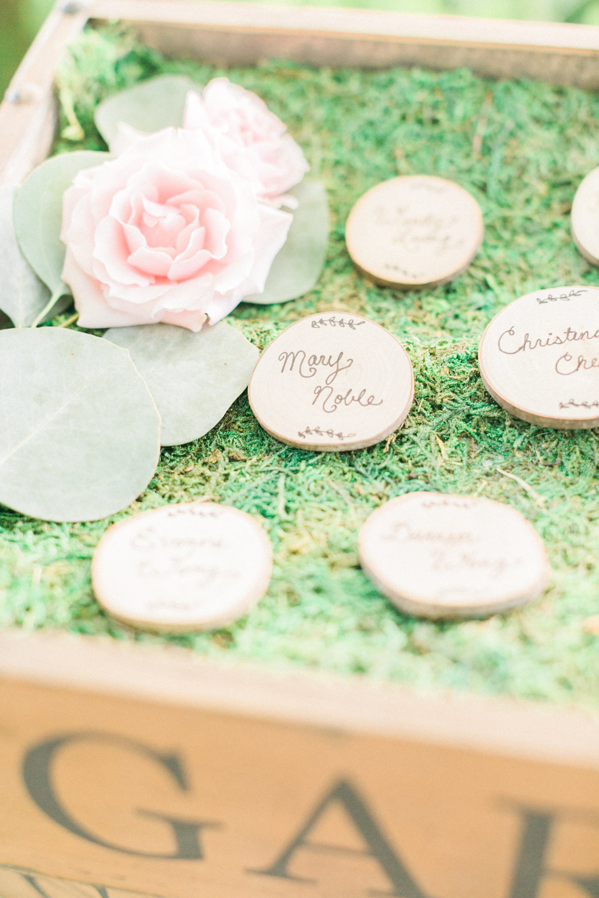 Wooden Escort Cards