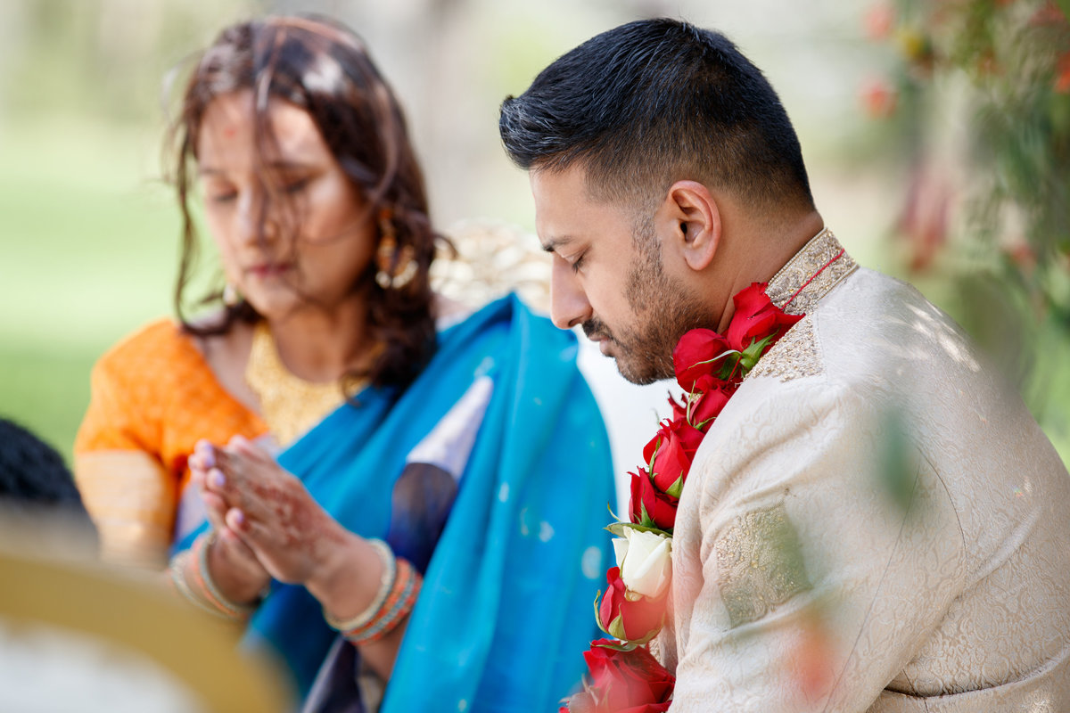 Indian wedding photographer pecan springs ranch groom mother ceremony 10601 B Derecho Drive, Austin, TX 78737