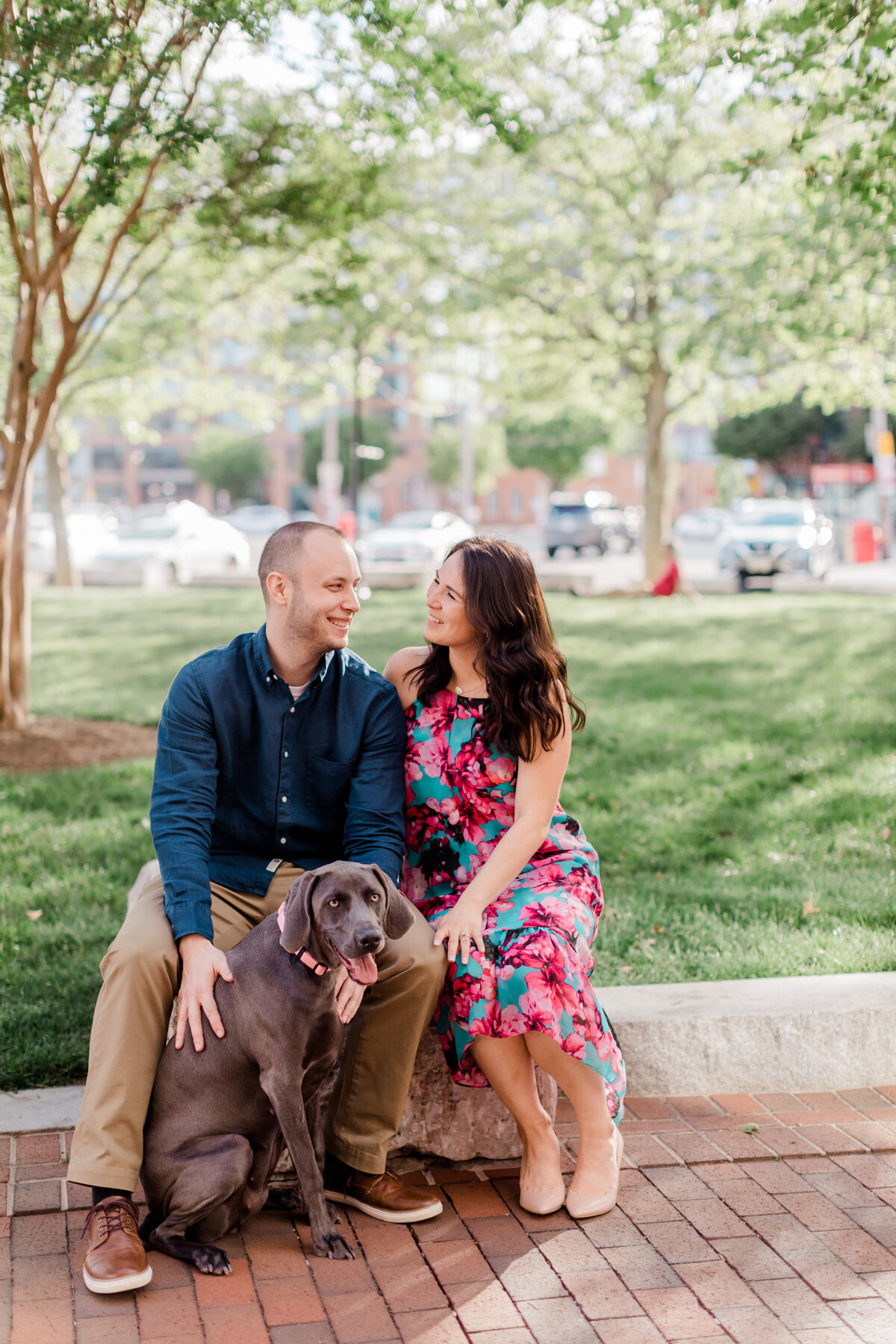 Maryland engagement session