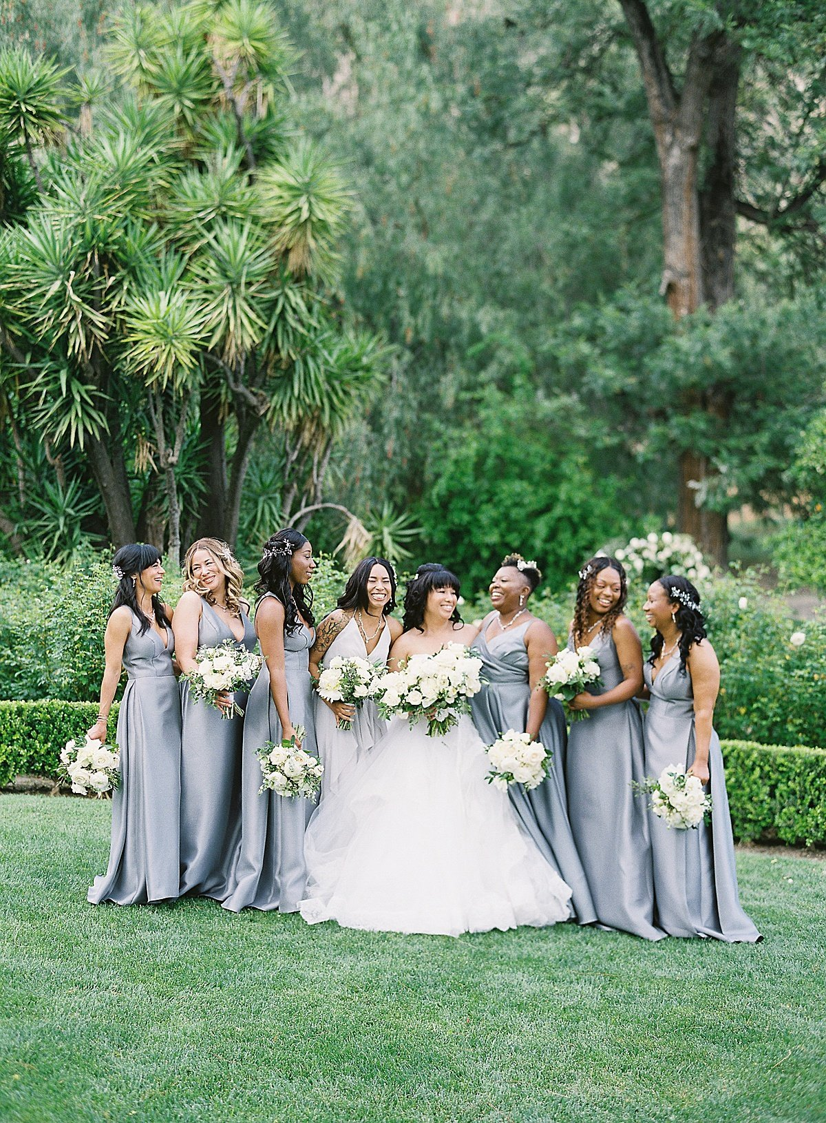 Posh Peony Newhall Mansion Piru Lush White Floral and Greenery Wedding_0017