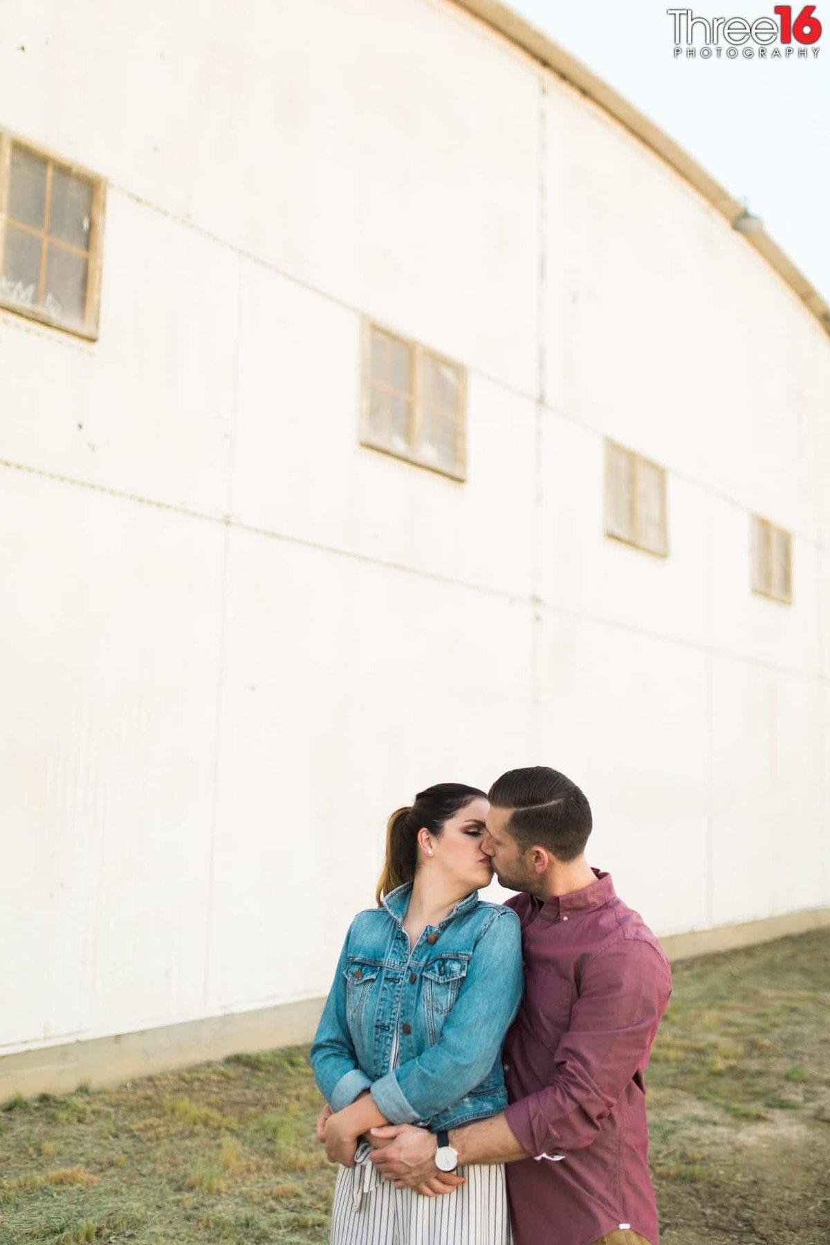 Orange Train Station Engagement Photos Orange County Wedding