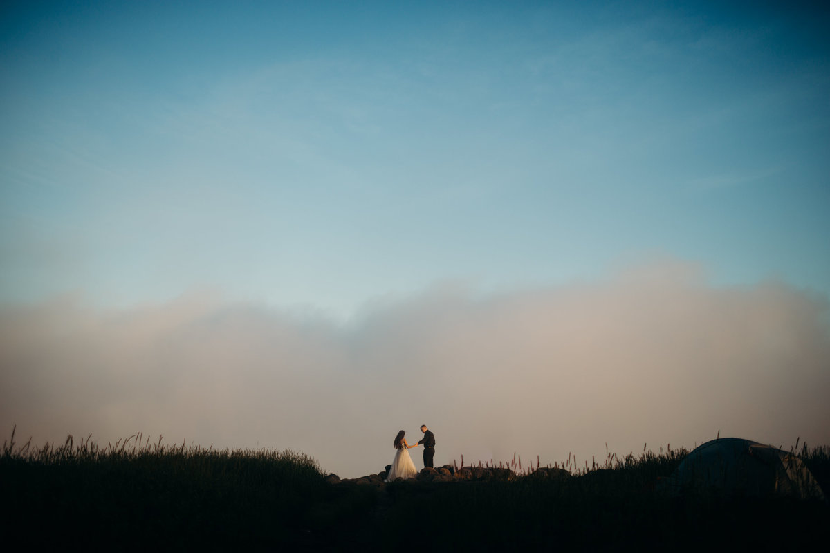 Black Balsam Knob engagement session by Greenville wedding Photographer Simply Violet Photography