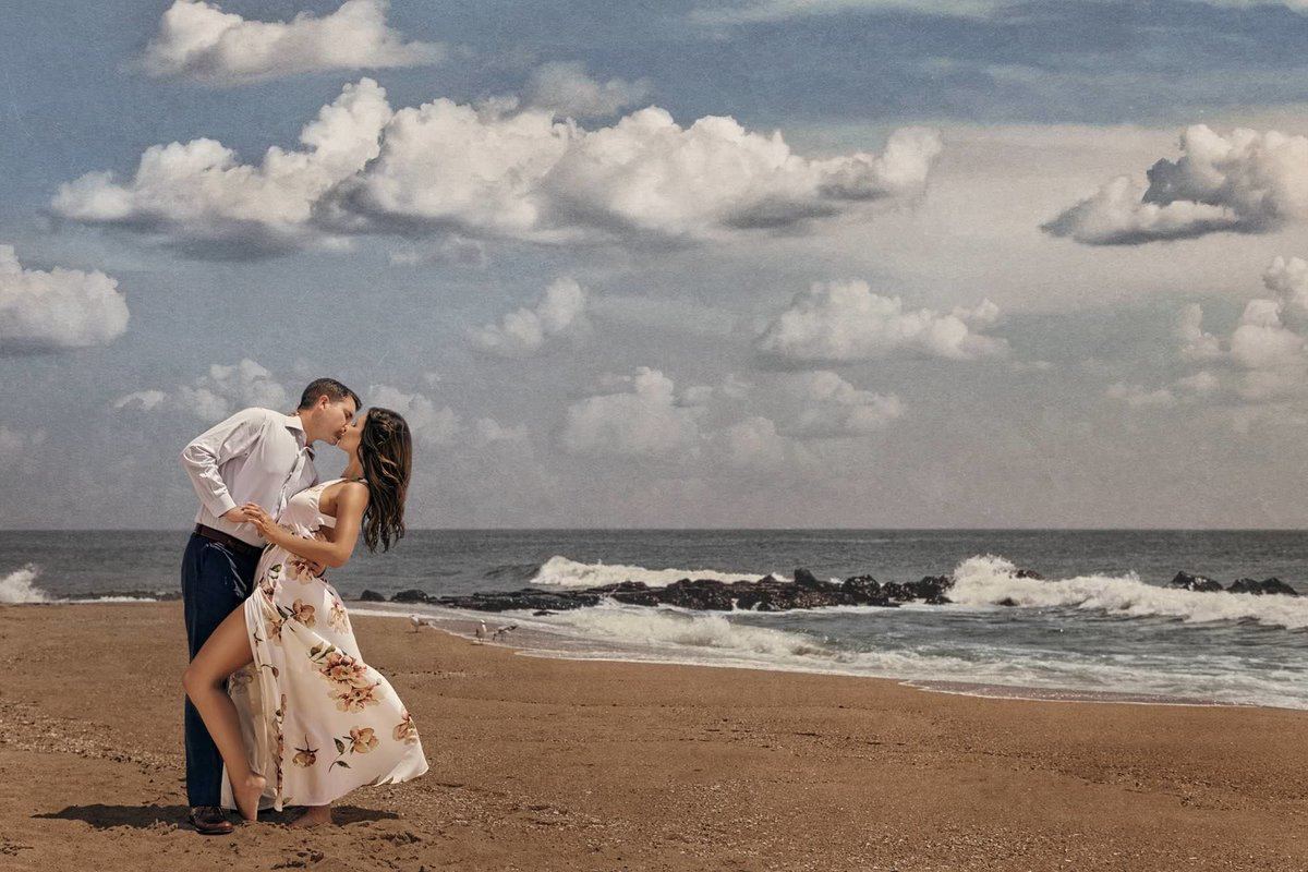 NJ Wedding Photographer Michael Romeo Creations Engagment Asbury