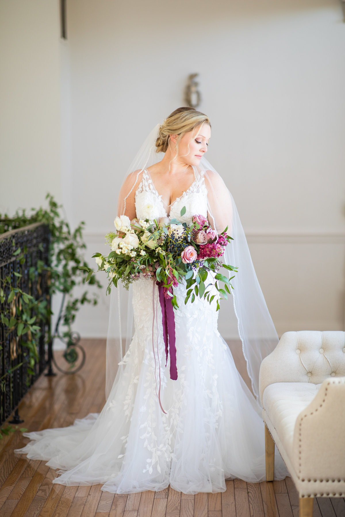 Stefanie Kamerman Photography - Sweetly Southern Events LLC Styled Shoot - The Manor at Airmont - Round Hill, VA-253
