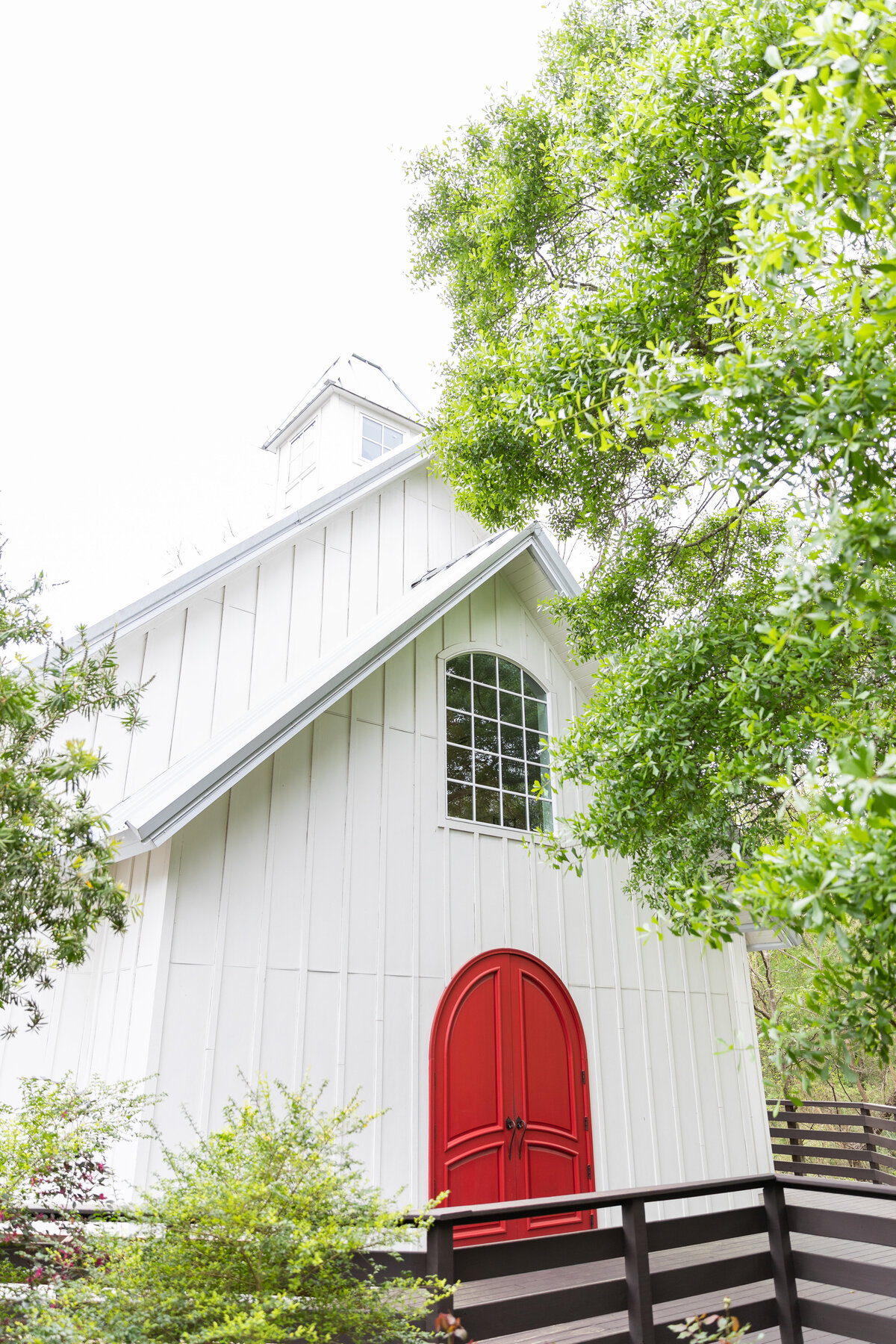 Lovely White Chapel at the Carriage House