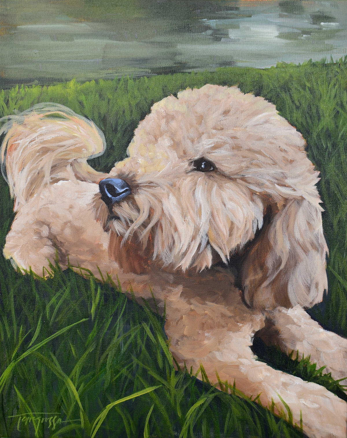 Torregrossa Fine Art Custom Pet Portrait by Stephanie T Gaffney 2