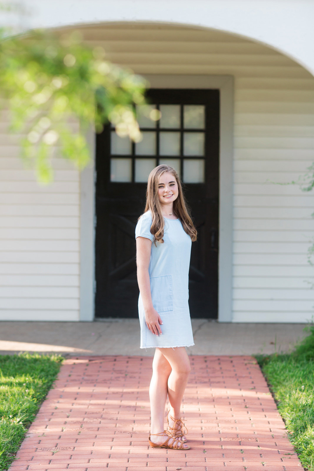 L Photographie high school senior photos Queeny Park 24