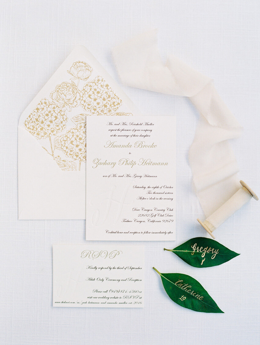 pirouettepaper.com | Wedding Stationery, Signage and Invitations | Pirouette Paper Company | Dove Canyon Country Club Wedding | Mallory Dawn Photography  (14)