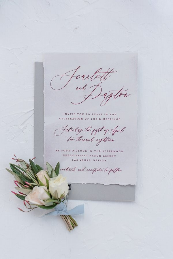 Banff Wedding Invitations