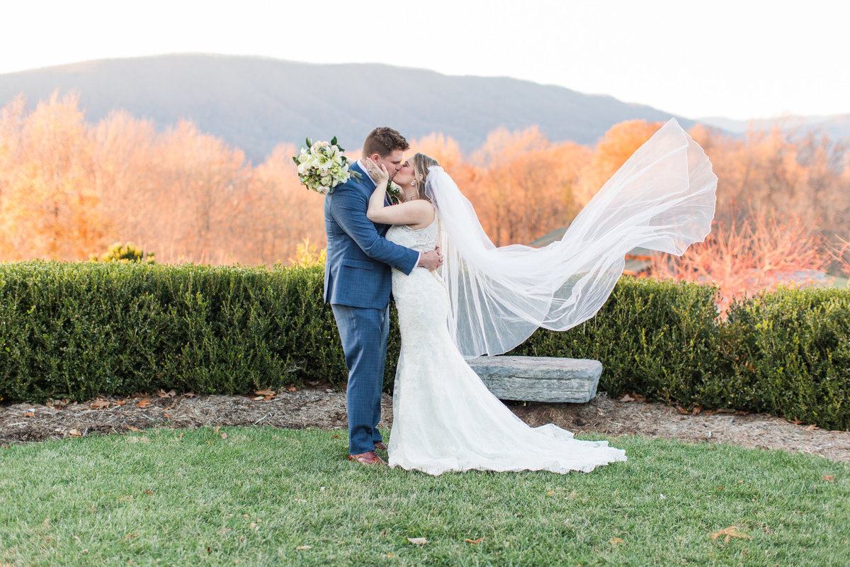 Fall Wedding at House Mountain Inn in Lexington, VA