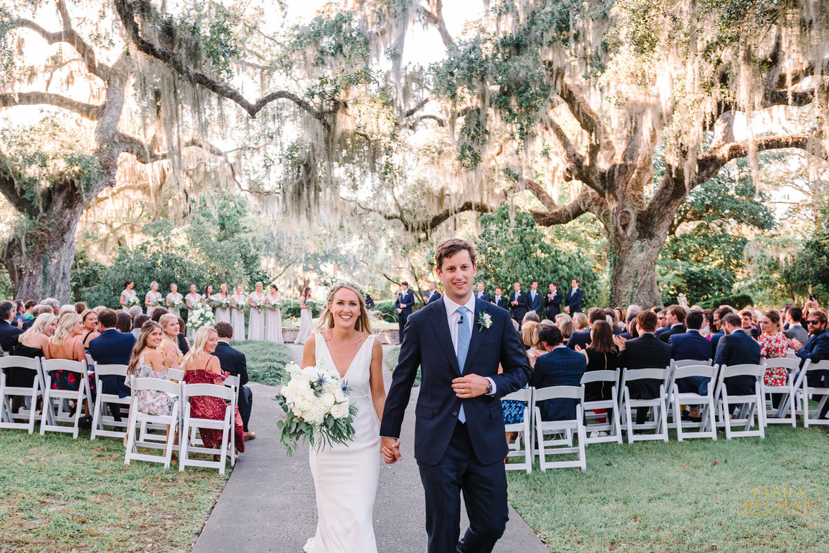 Pawleys Island Wedding Photographer - Wedding Photos at Brookgreen Gardens