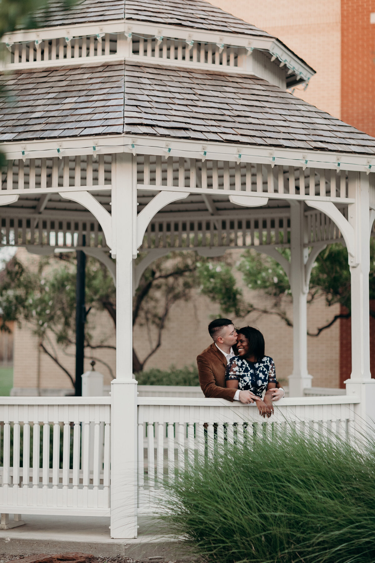 Downtown Frisco Engagement Photos-3