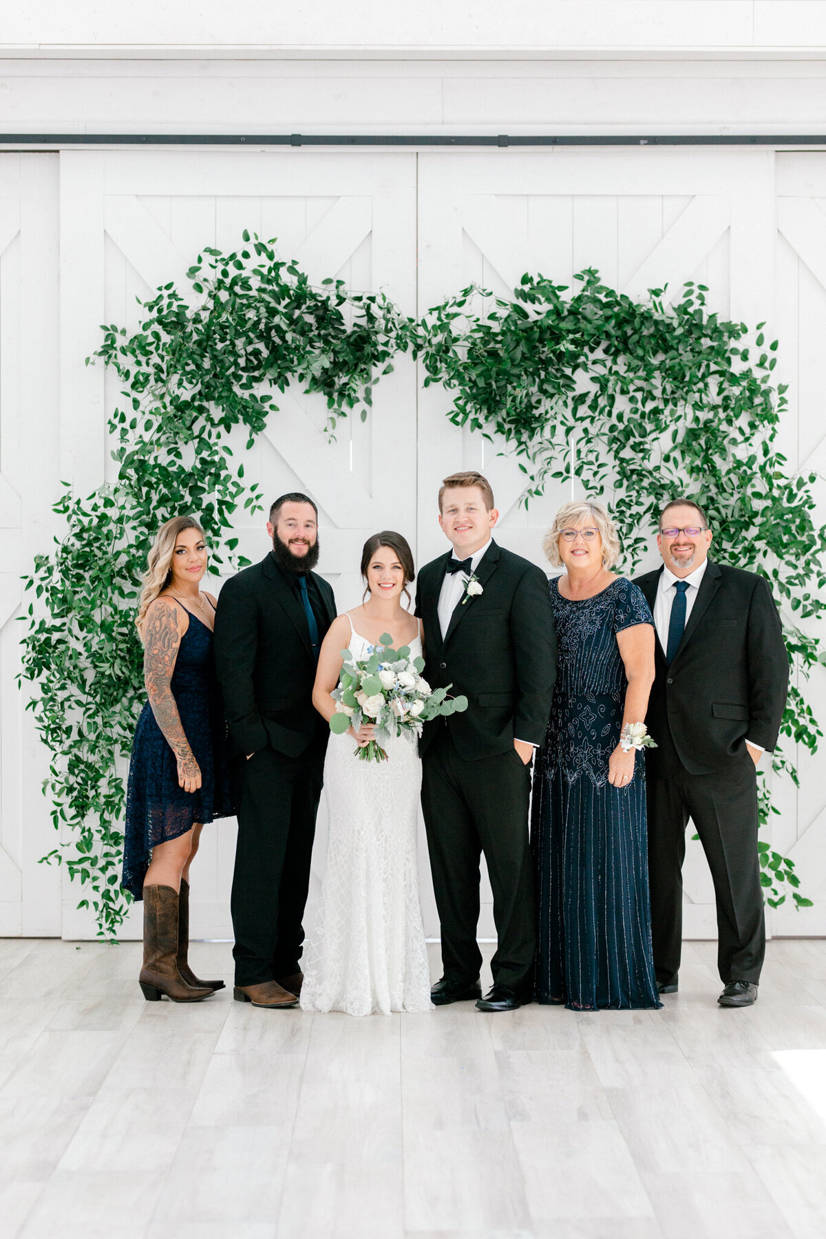 Anna & Billy's Wedding at The Nest at Ruth Farms | Dallas Wedding Photographer | Sami Kathryn Photography-151