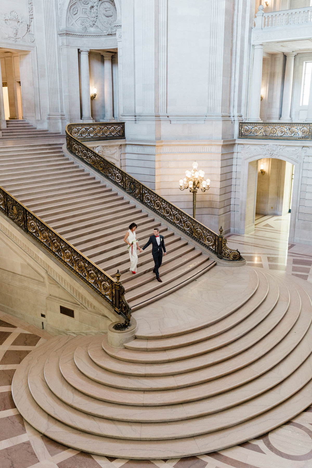 Judy + Greg San Francisco City Hall Wedding - Cassie Valente Photography 0002