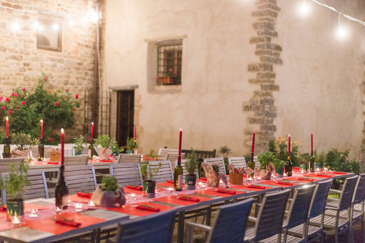 Wedding B&S - Rehearsal dinner - Umbria - Italy 2017 10