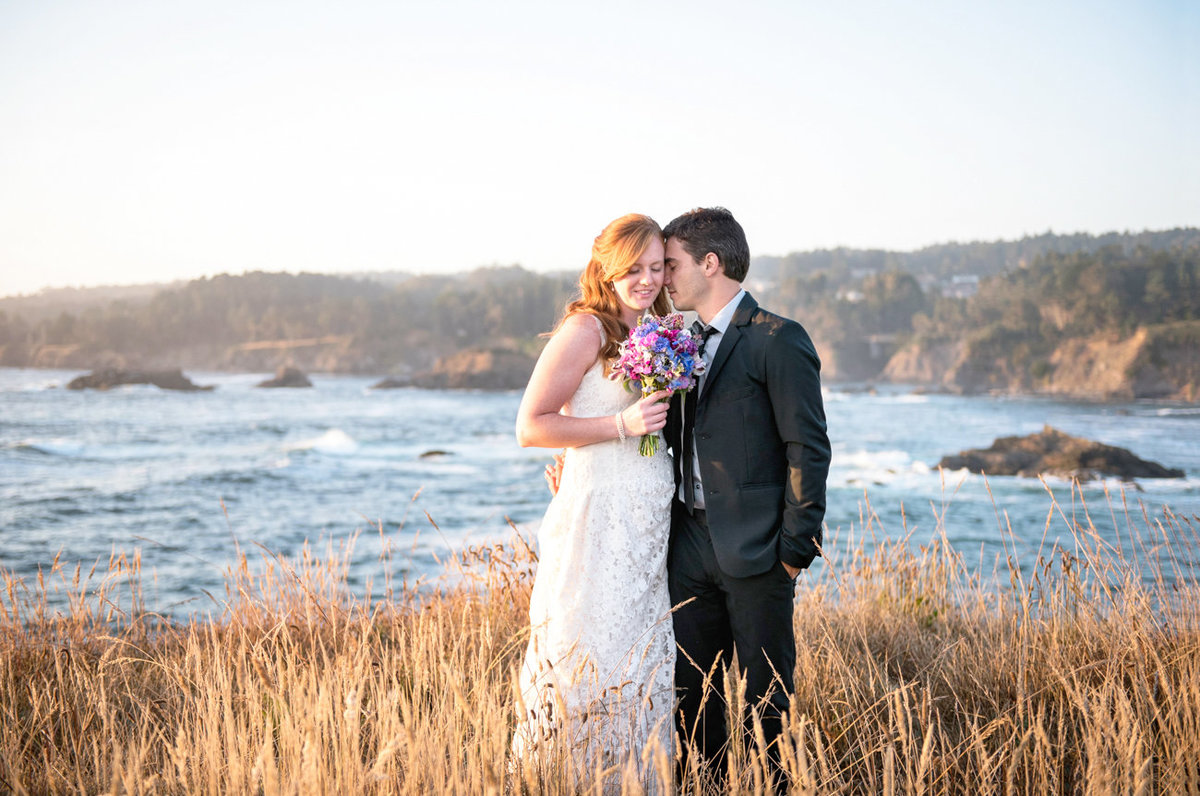 Mendocino Elopement, Cypress Grove Wedding