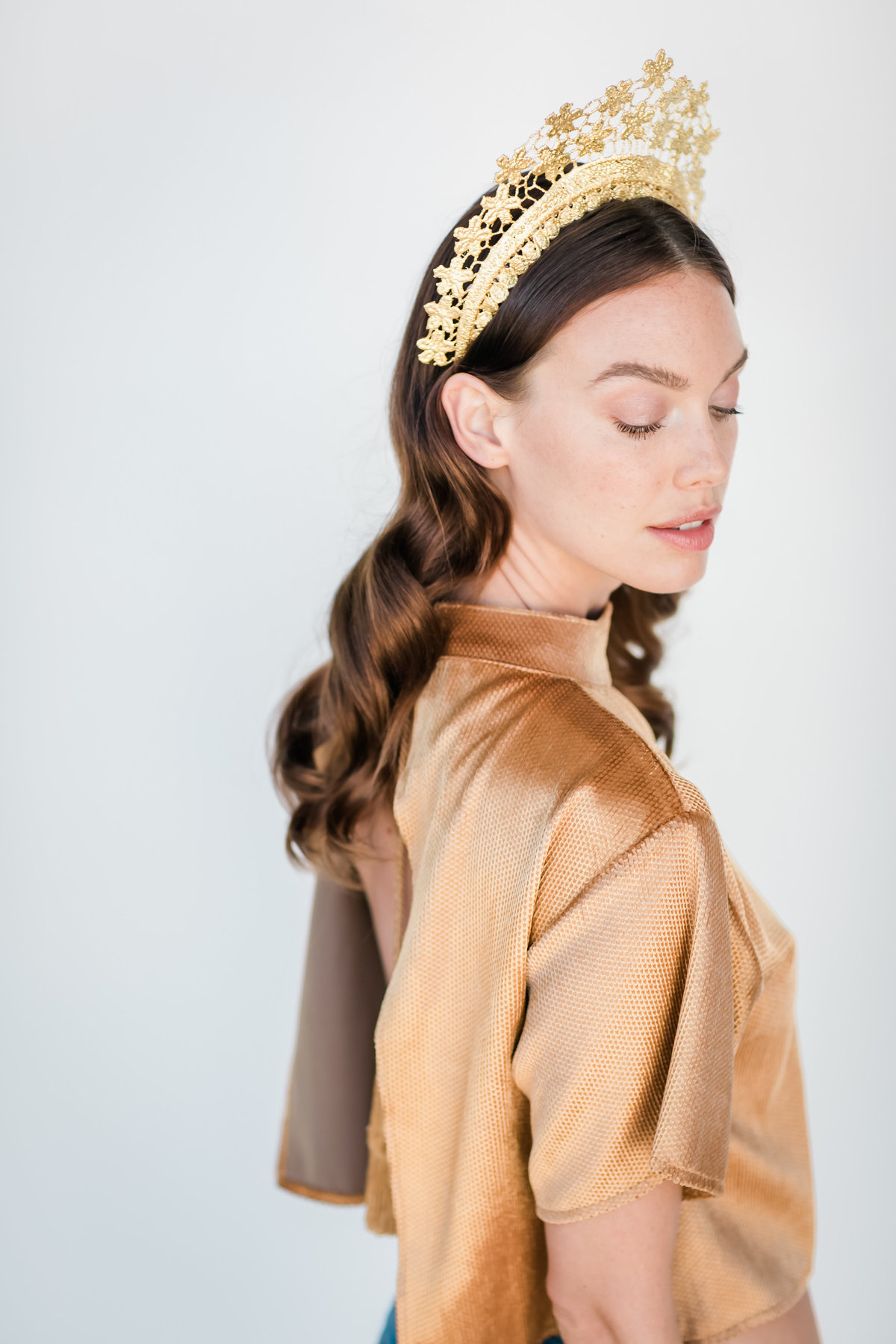 Bridal Crown Editorial Shoot Trace Henningsen Accessories_Valorie Darling Photography-7985