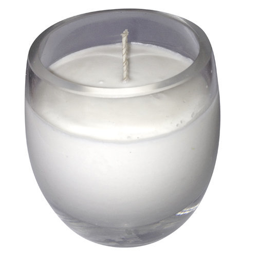 natural soy candle glass