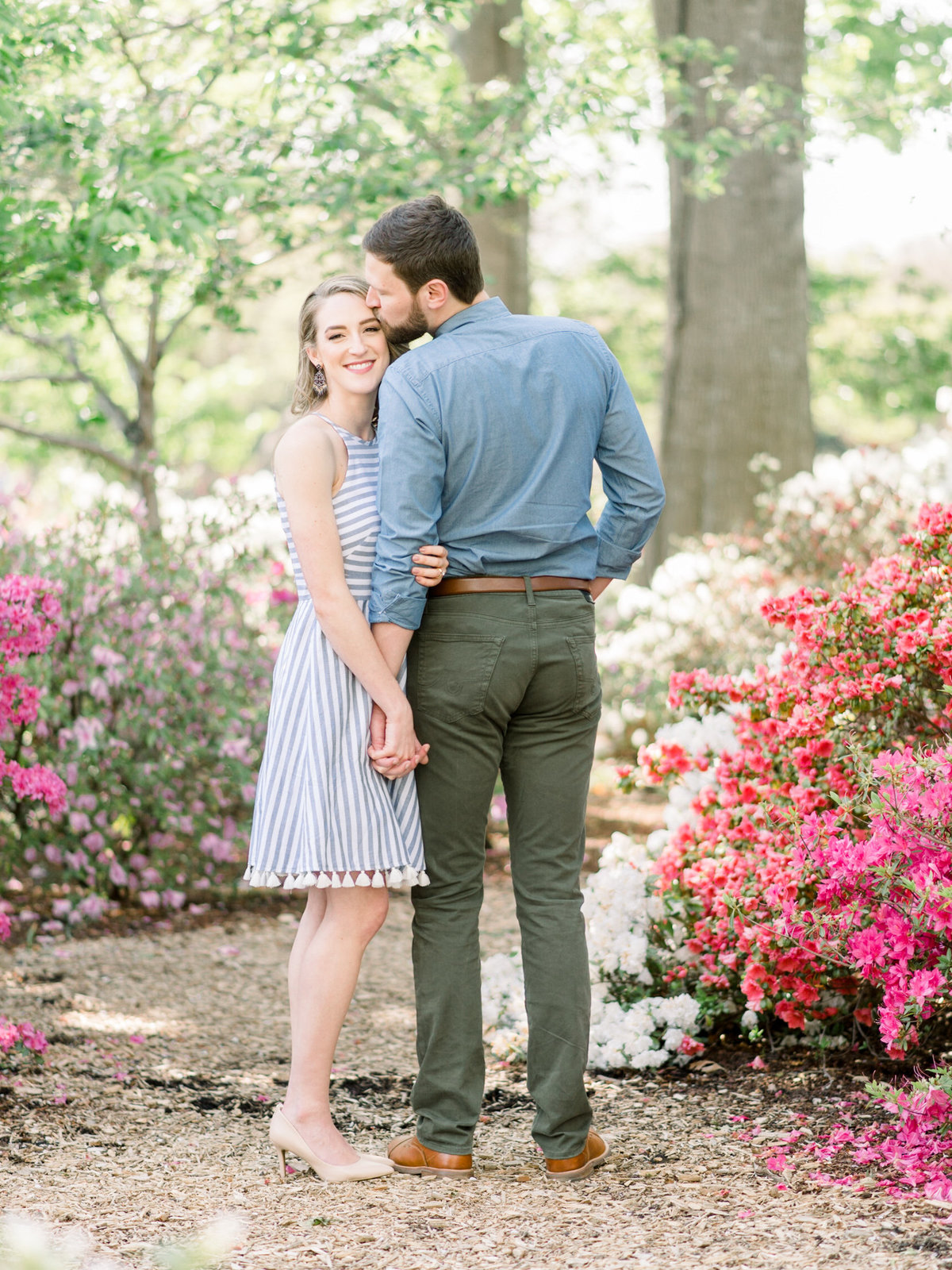 Courtney Hanson Photography - Dallas Spring Engagement Photos at Dallas Arboretum-2685