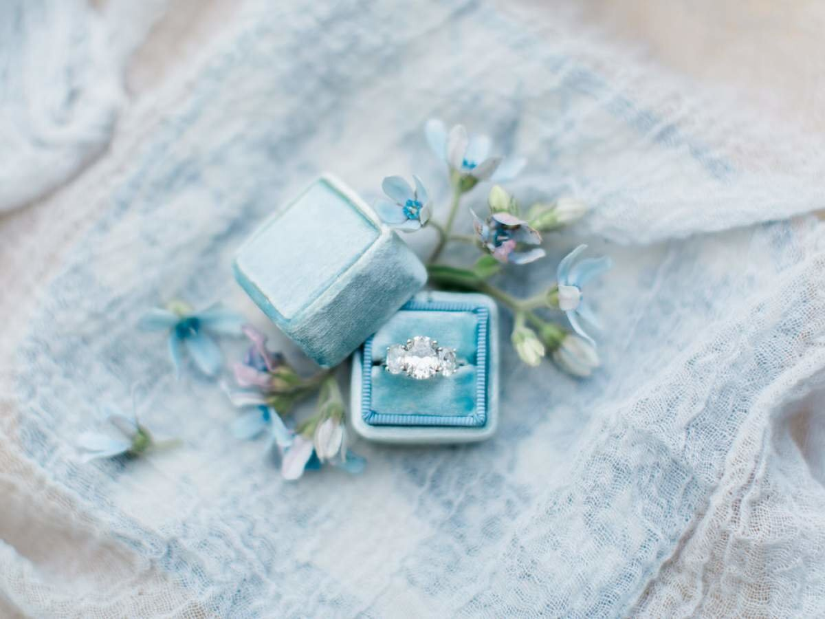 antique-engagment-ring-dusty-blue-wedding