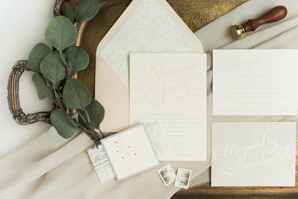 Hello Invite Design Studio - Cincinnati, Ohio Wedding Stationery Designer - Stationery Design, Stationery Designs - Photo - 45
