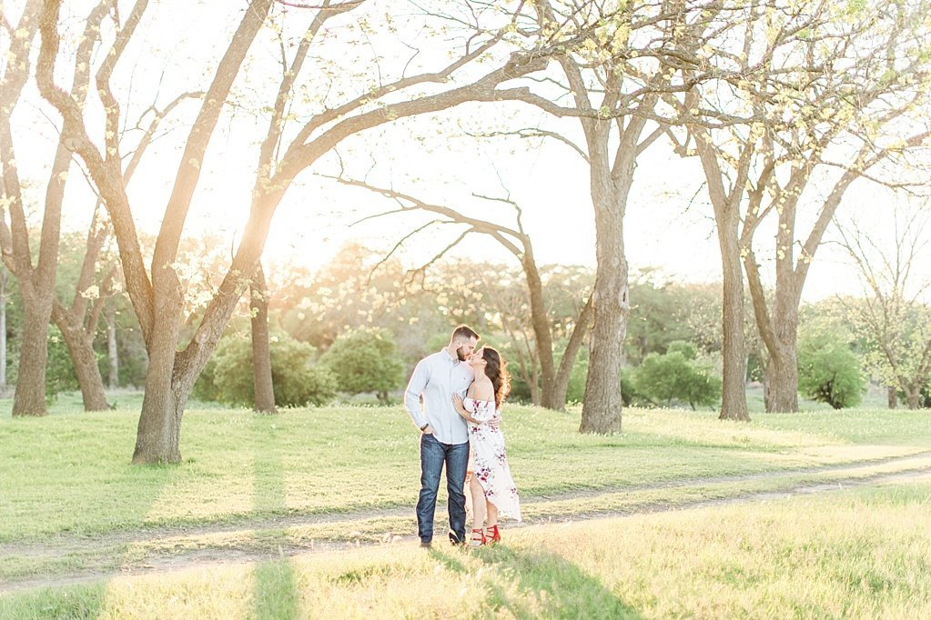 Eagle Dancer Ranch Engagement Photo Session in Boerne, Texas by Allison Jeffers Photography_0031