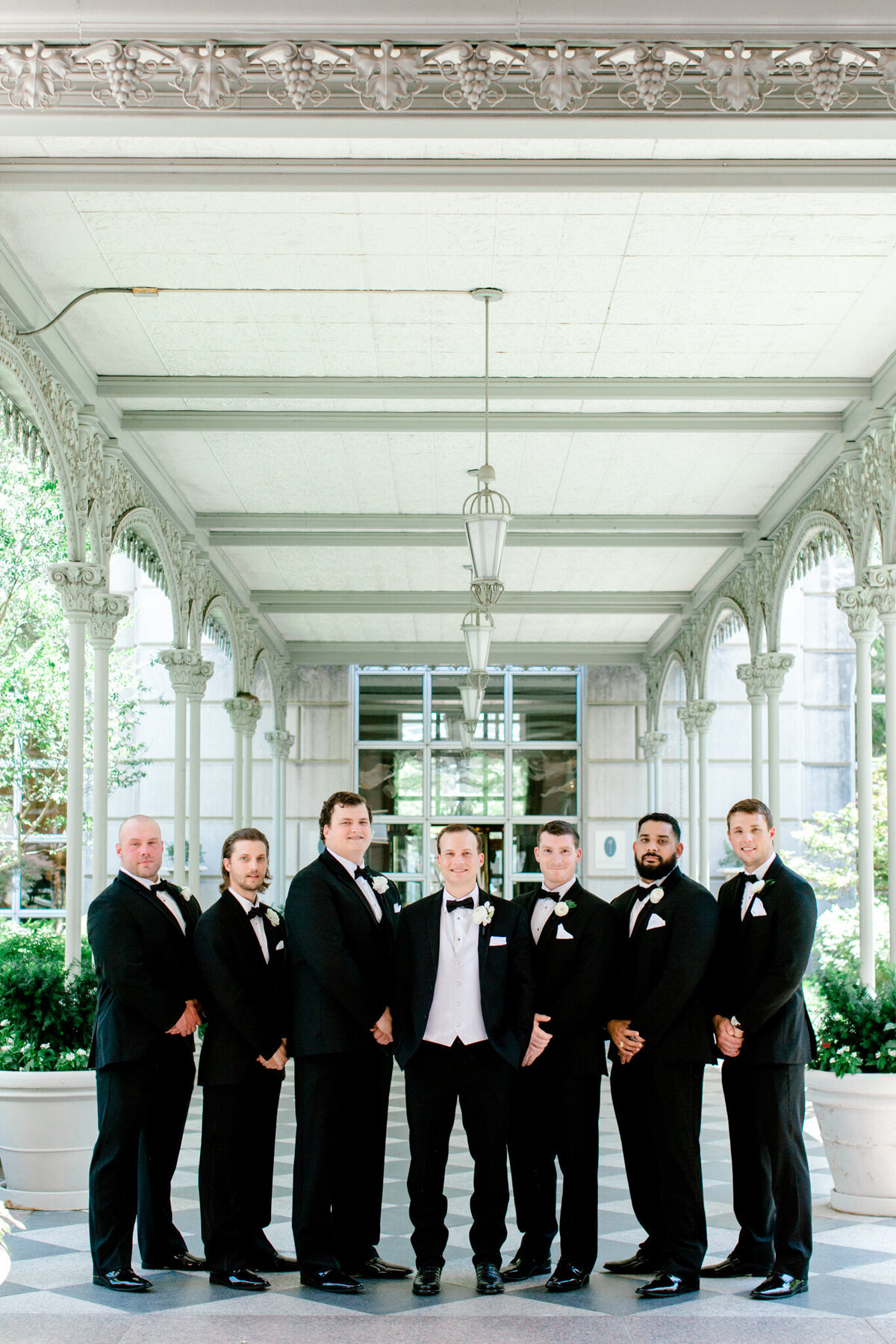 Wedding at the Crescent Court Hotel and Highland Park United Methodist Church in Dallas | Sami Kathryn Photography | DFW Wedding Photographer-87