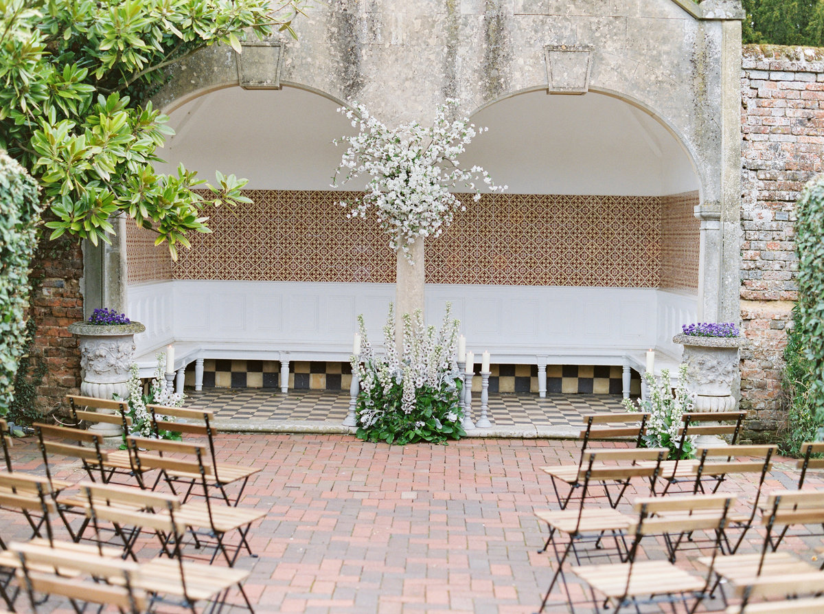 Outdoor Wedding Ceremony Four Seasons Hampshire