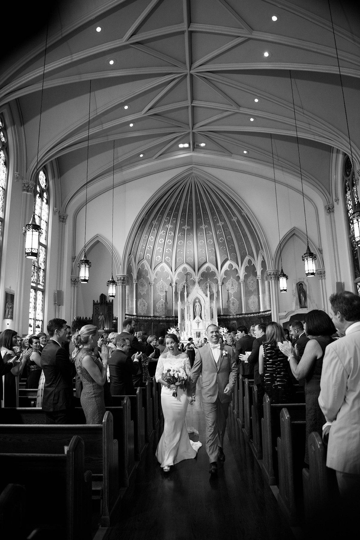 Immaculate Conception, Shaw Wedding by Washington DC Wedding Photographer, Erin Tetterton Photography