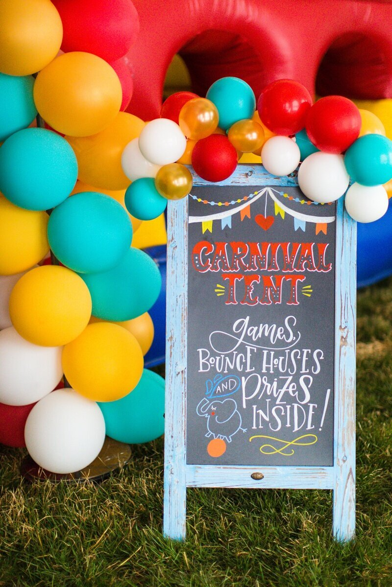 Circus Themed 1st Birthday Indianapolis Party Planner_0085