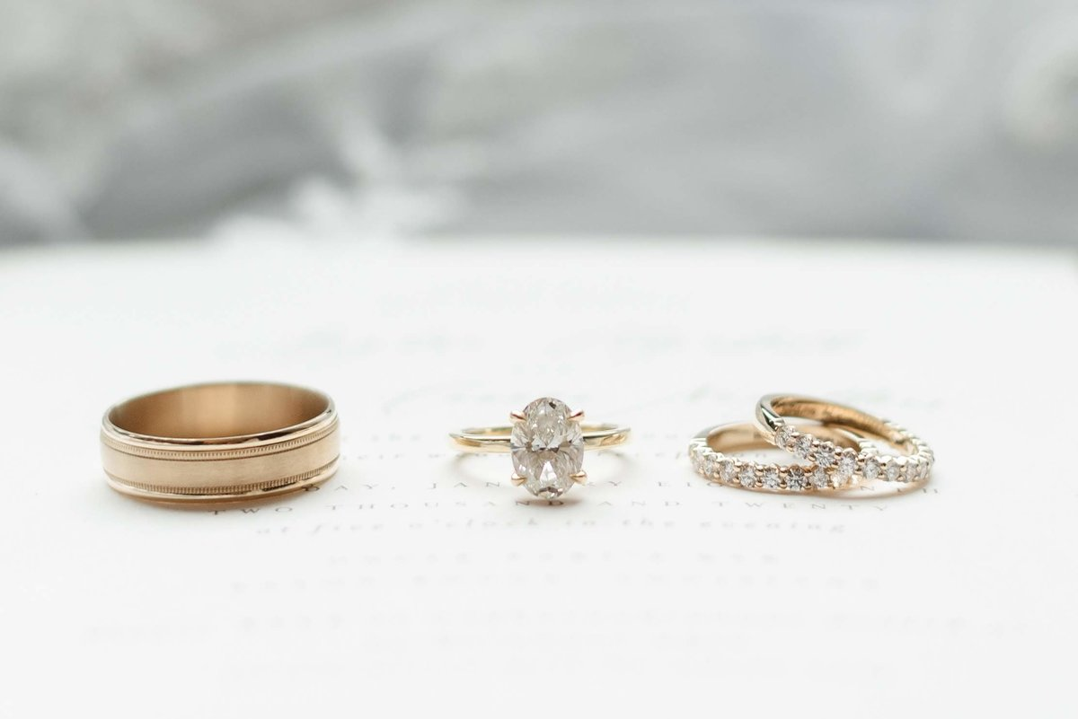 Wedding Day Ring Set