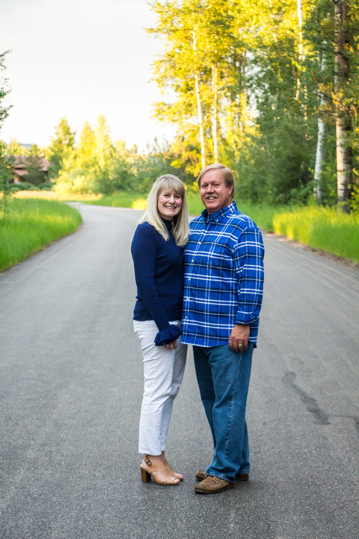 Jackson Hole, Teton Valley, Driggs, Idaho Family Photographer, Family Portraits, Family Sessions, summer family pictures, parent portraits, Aspens
