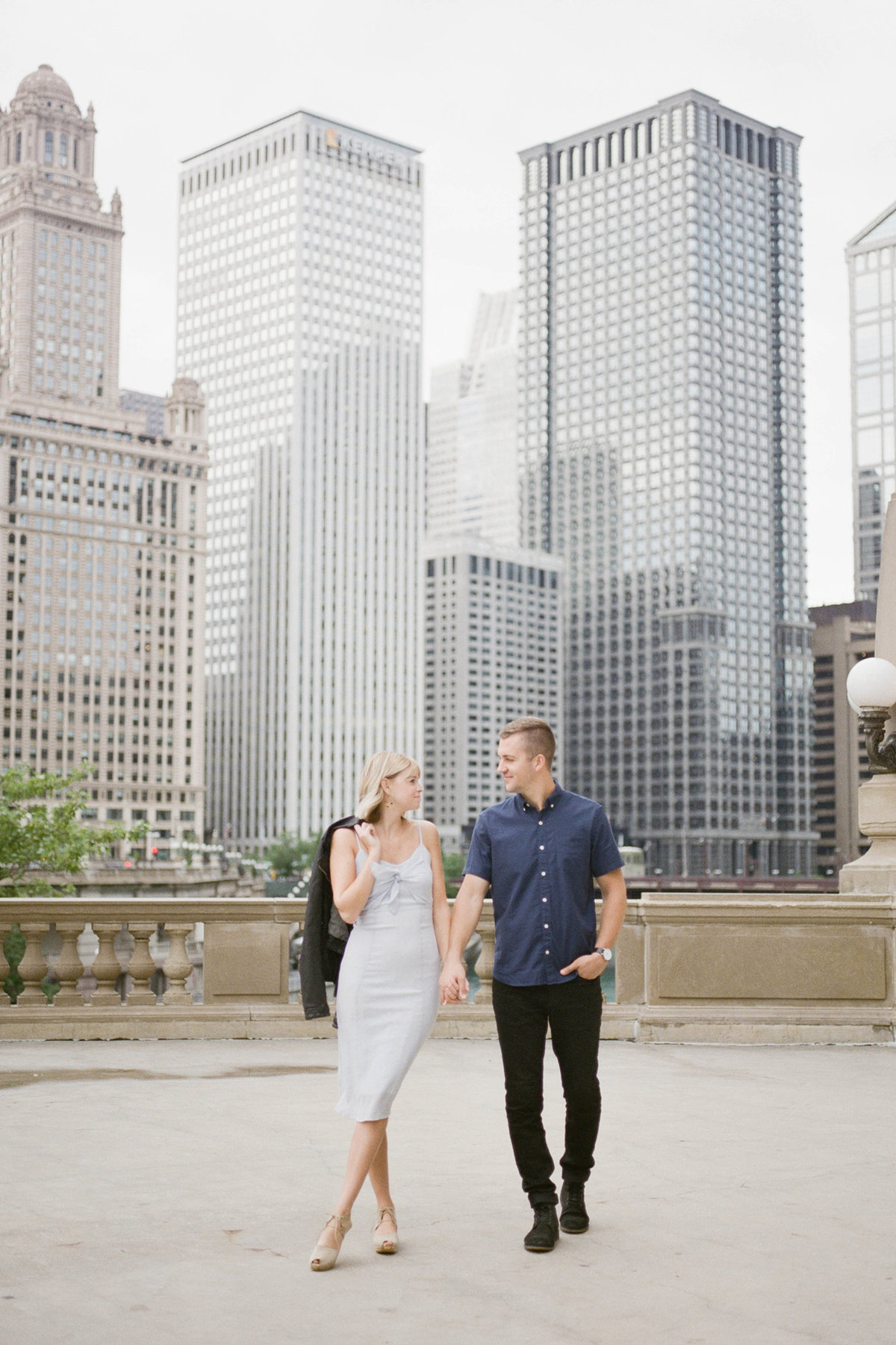 Chicago Wedding Photographer - Fine Art Film Photographer - Sarah Sunstrom - Sam + Morgan - Engagement Session - 30