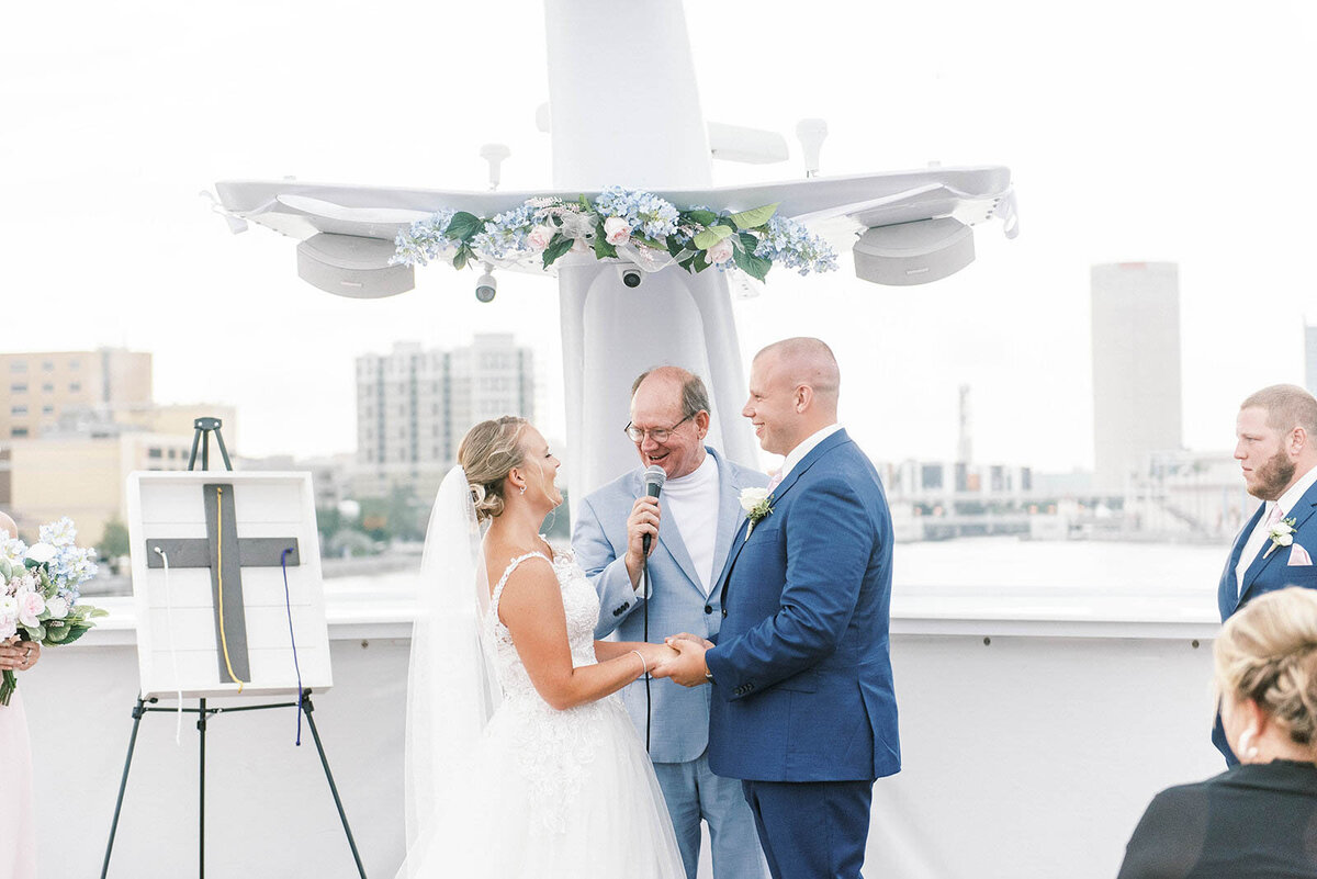 Yacht Starship Wedding Channelside Tampa Wedding Photographer