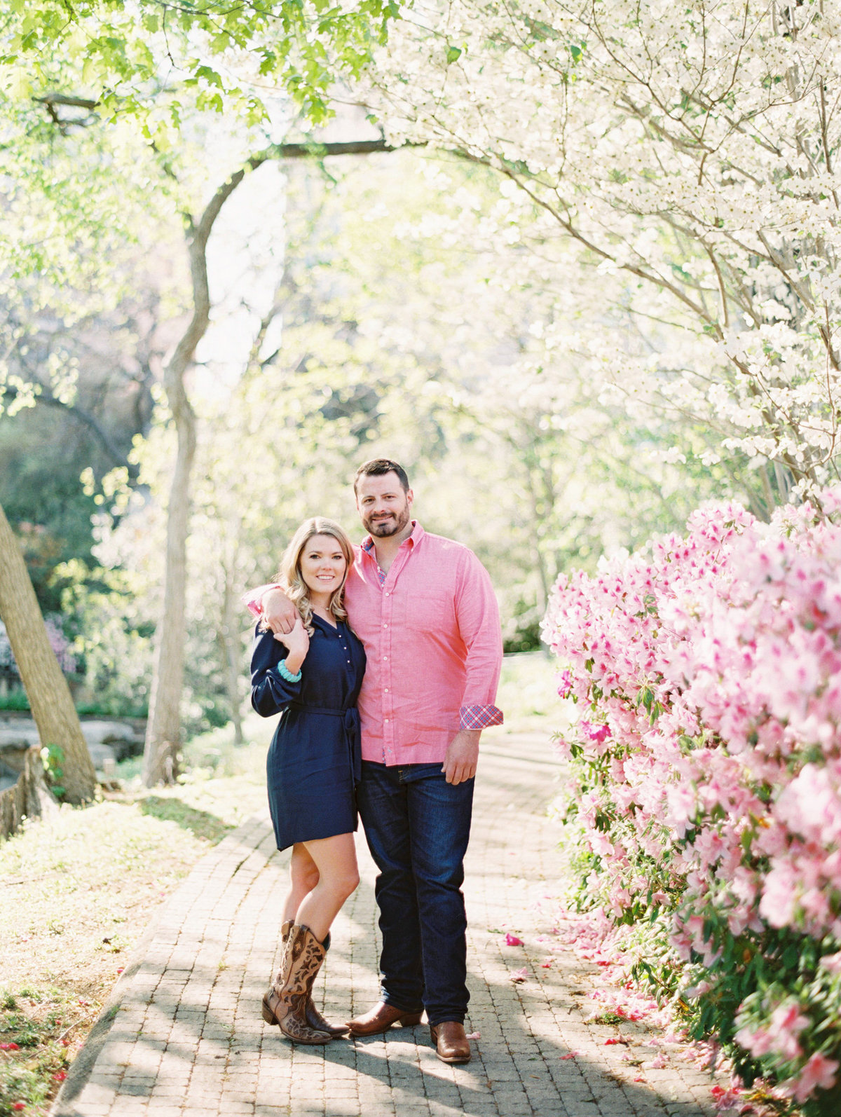 Courtney Hanson Photography - Dallas Spring Engagement Photos-013