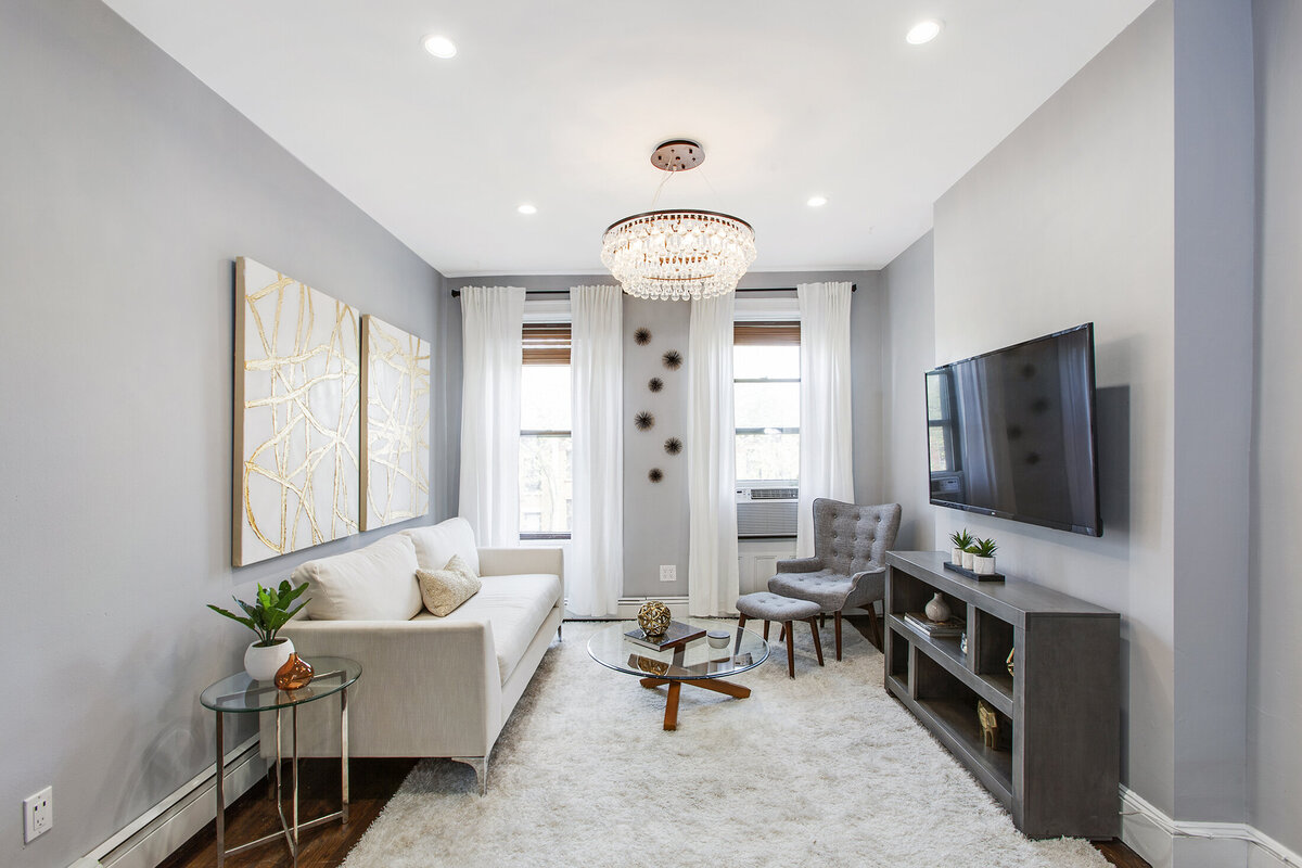 285 4th St Jersey City home staghing by Simplicity Design Services