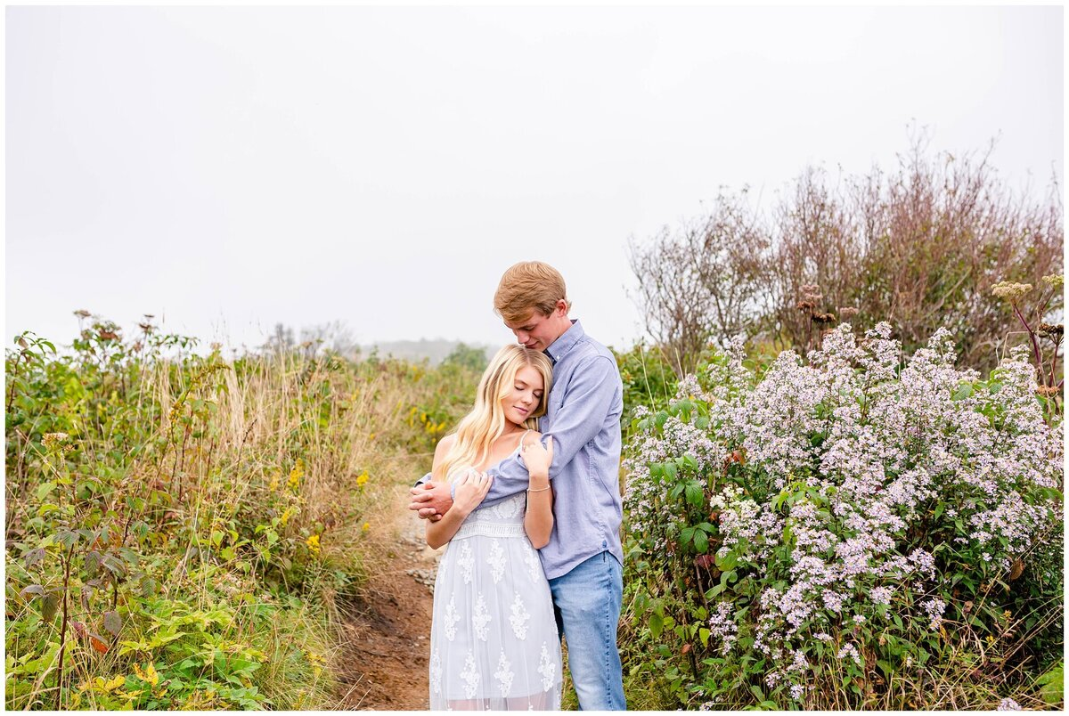 Black Balsam Knob - Asheville Engagement Photographer - Tracy Waldrop Photography_0311