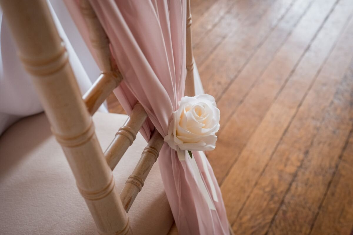 Pink and ivory wedding Prestwold (8)