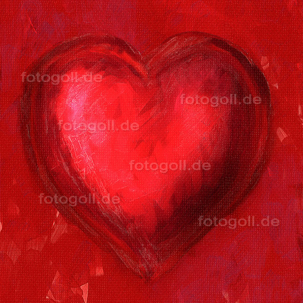 FOTO GOLL - HEART CANVASES - 20120119 - Love Hurts_Square