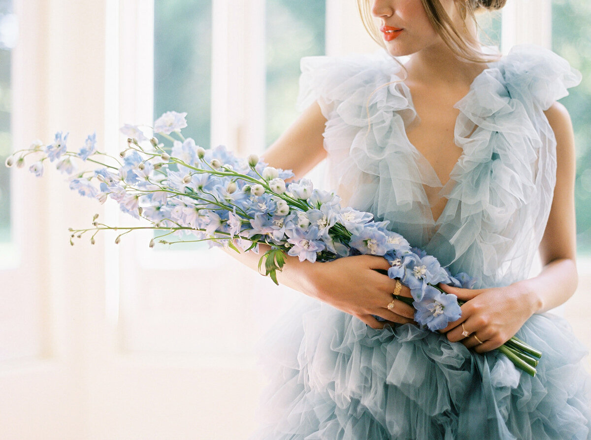 Ethereal Wedding Bouquet by Sofia Nascimento Studios