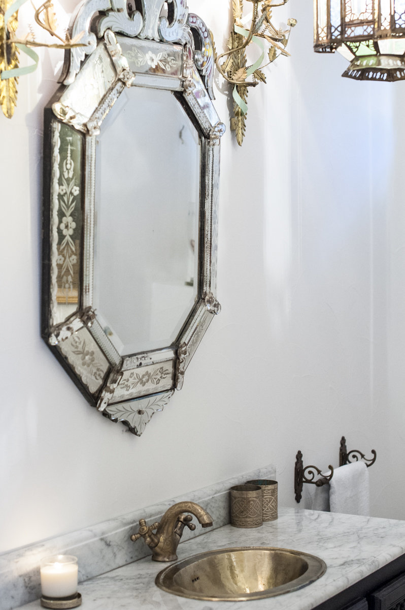 venecian mirror bathrooms