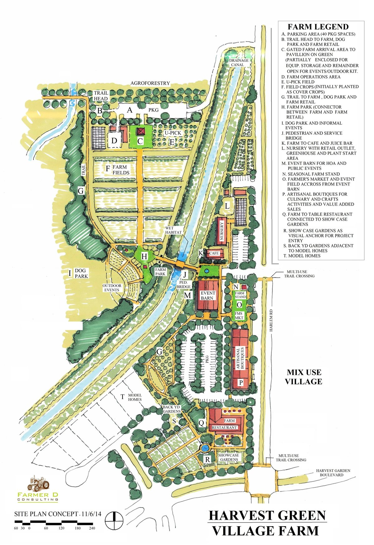Harvest Green Site Plan 11-11-14