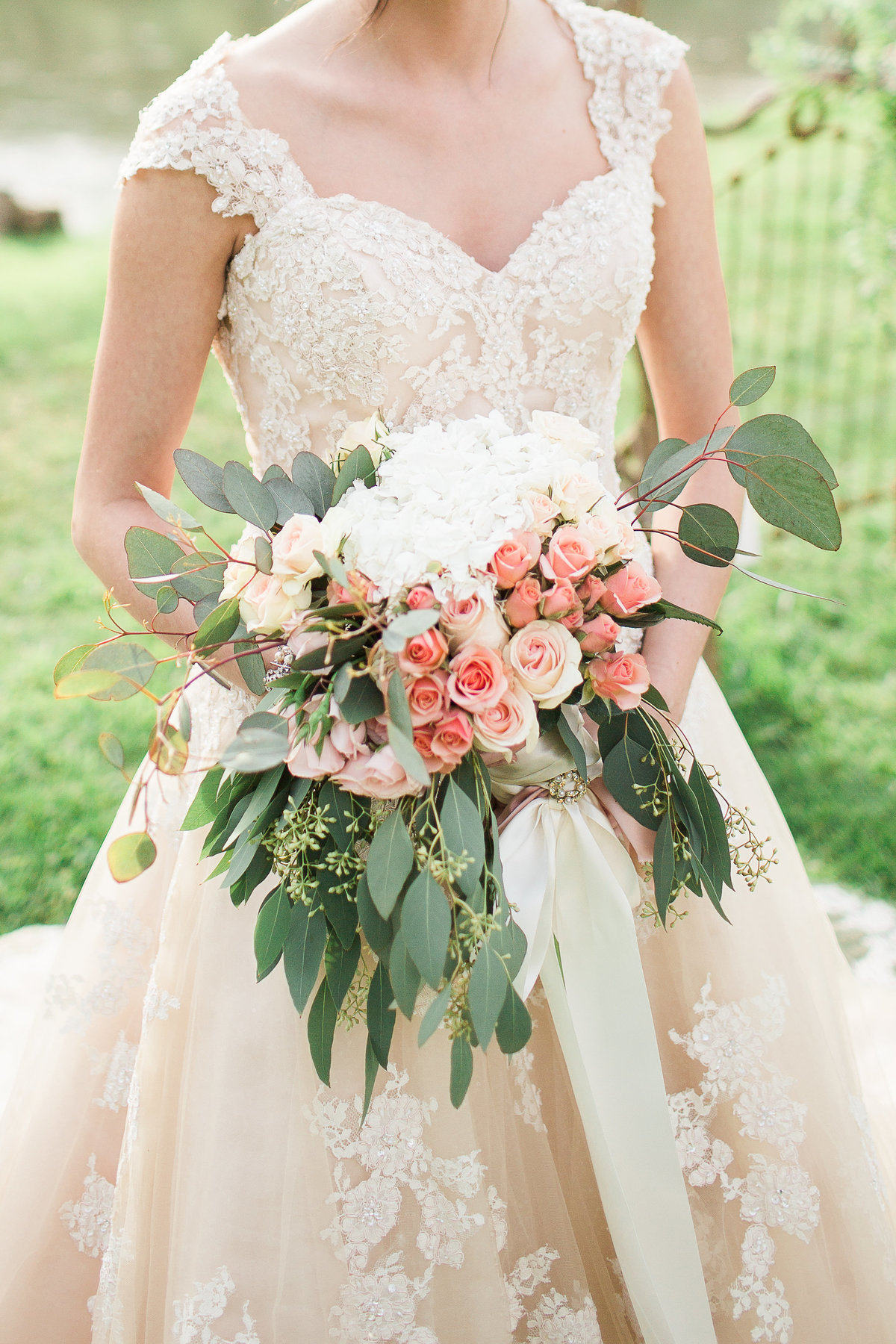 French Inspired Blush Pink Bridal Session